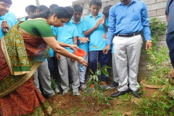 Podar International School-Tree Plantation