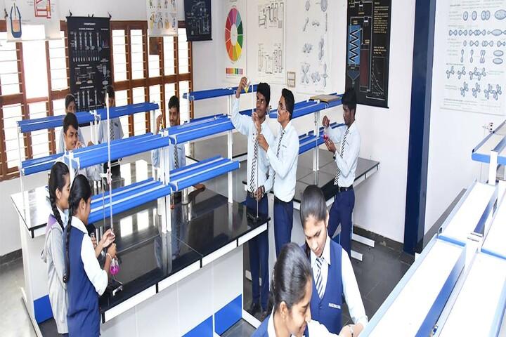 Police Public School-Chemistry lab