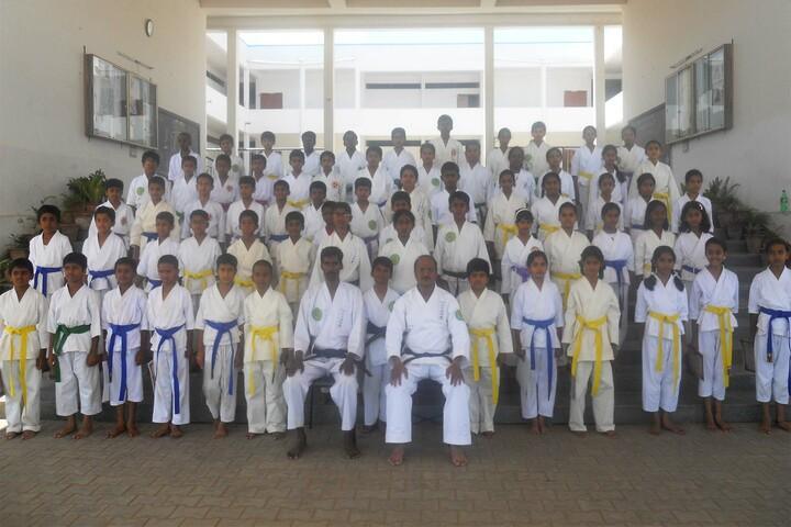 Police Public School-Karate Activity