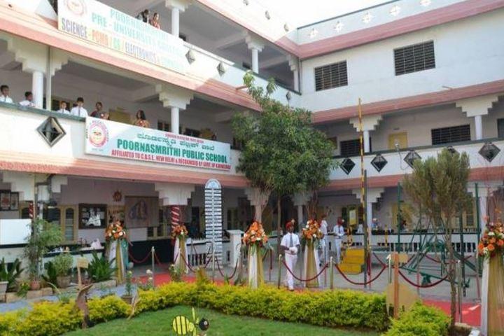 Poorna Smrithi Public School-Building