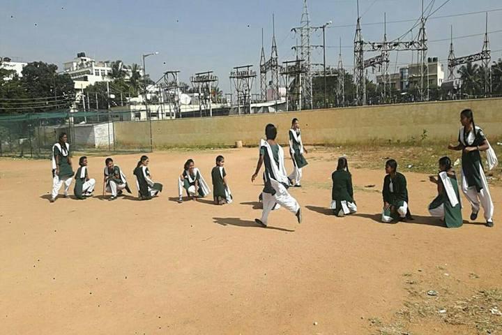 Poorna Smrithi Public School-Kho Kho