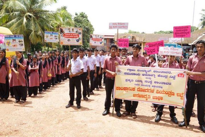 Prakruti National School-Rally