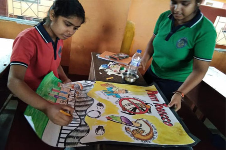 Hindustani Kendriya Vidyalaya-Painting Competition