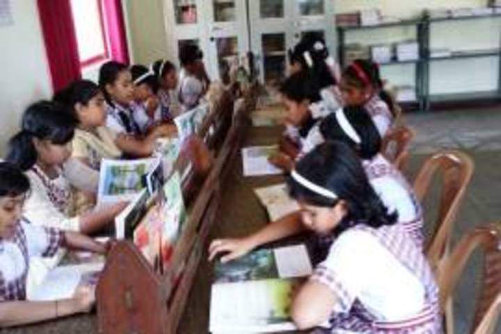Presentation Convent Lower Higher Primary English Medium School-Library
