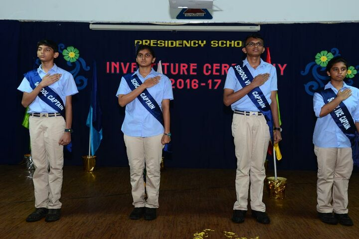 Presidency School-Investitue Ceremony