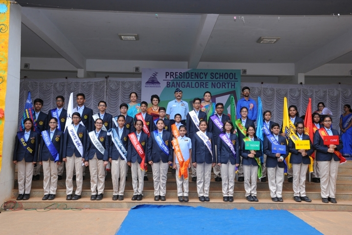 Presidency School-Investiture Ceremony