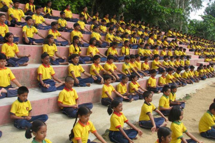 Prudence International Residential School-Yoga Day