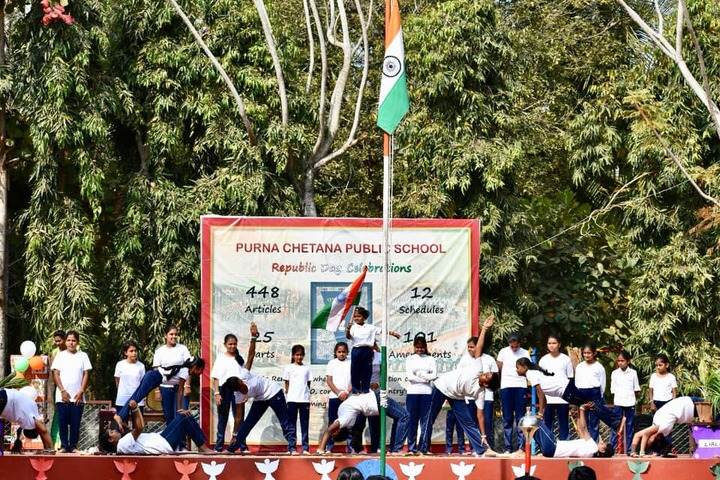 Purna Chetana Public School-Republic Day Celebrations