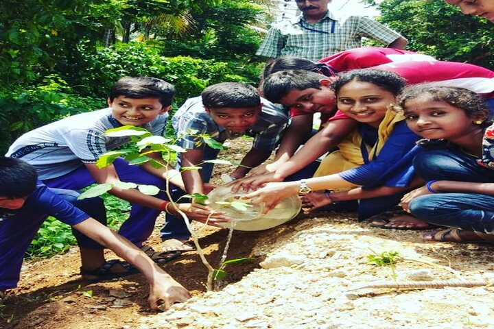 Purna Chetana Public School-Tree Plantation