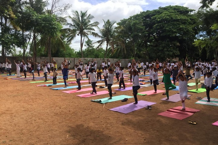 Purna Chetana Public School-Yoga Day