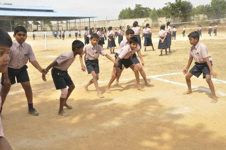 R L Jalappa Central School-Play Ground