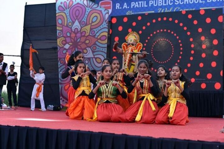 R A Patil Public School-Dance