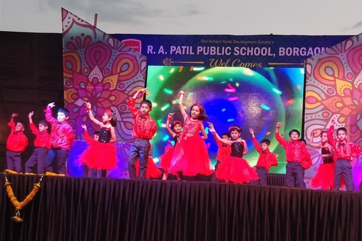 R A Patil Public School-Red Day