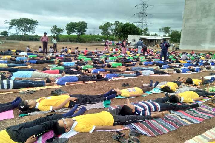 R A Patil Public School-Yoga
