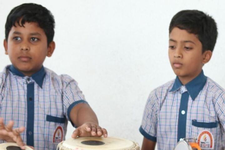 R M Shah Public School-Music