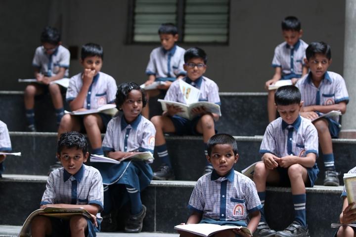 R M Shah Public School-Study Room