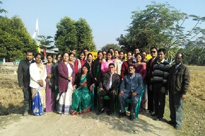 Holy Child English School-Staff