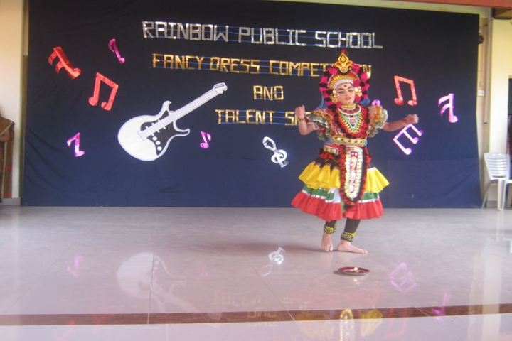Rainbow Public School-Fancy Dress Competition