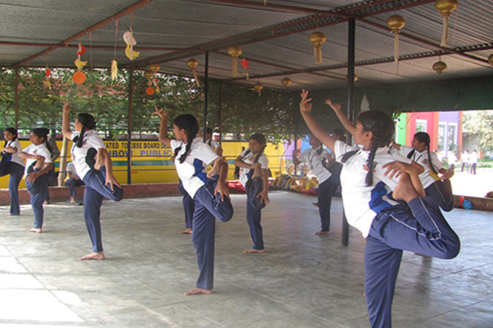 Rainbow Public School-Yoga Class