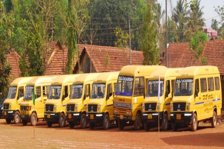 Raj Academy Higher Primary and Raj Academy High School-Transport