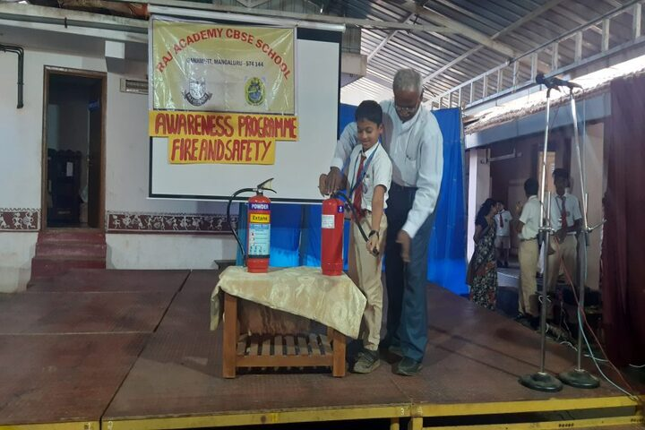 Raj Academy Higher Primary and  High School-Awarness Program