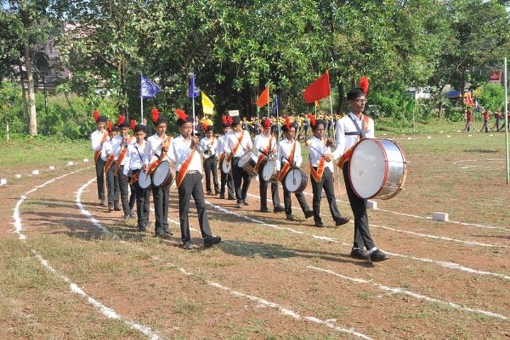 Raj Academy Higher Primary and  High School-Brand Troop
