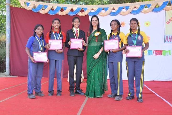 Raj Academy Higher Primary and  High School-Prize Distribution
