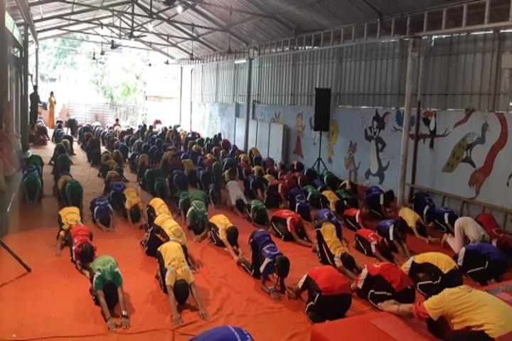 Raj Academy Higher Primary and  High School-Yoga