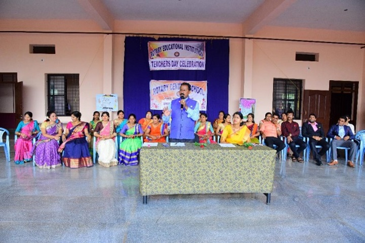 Rotary Central School-Teachers Day Celebrations