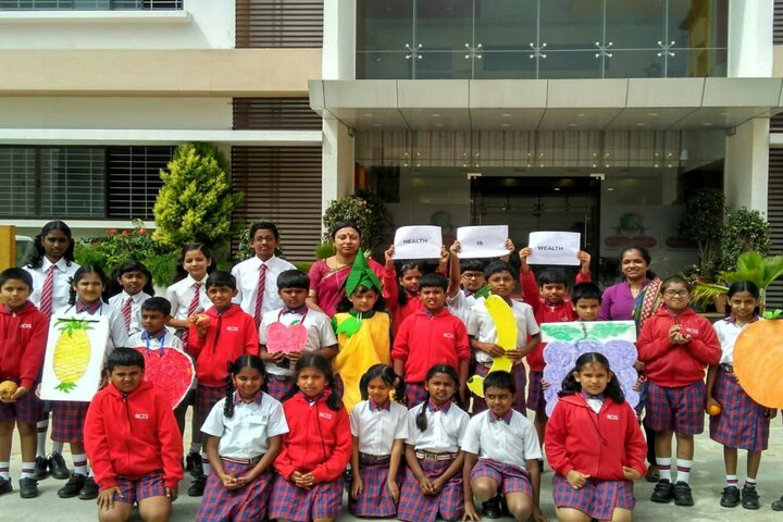 Royale Concode Intrnational School-Fruits Day