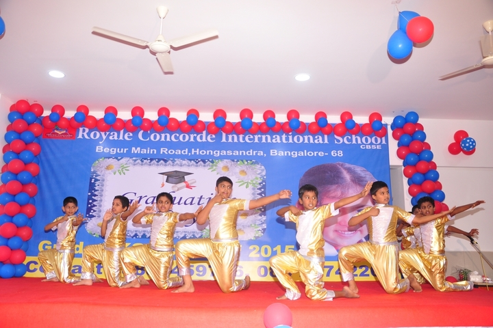 Royale Concode Intrnational School-Graduation Day