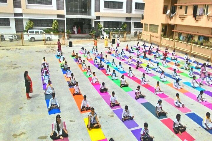 Royale Concode Intrnational School-Yoga Day