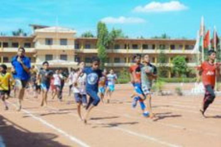 S M S English Medium School-Sports Day