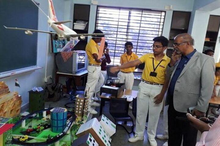 Sri Venkateshwara Central School-Science Exhibition