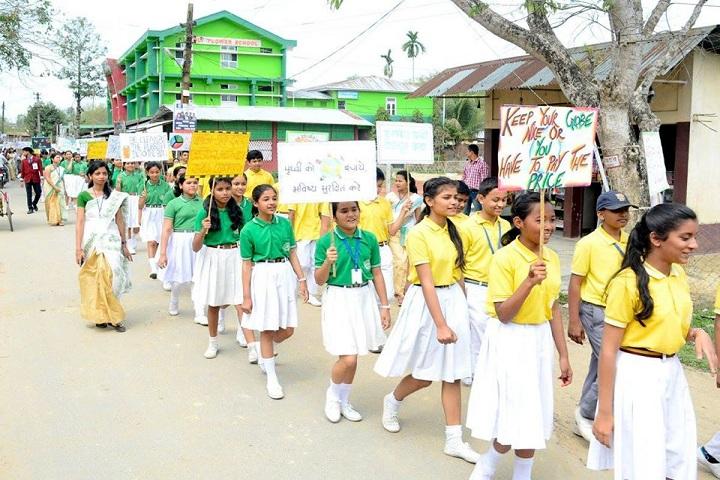 Holy Flower High School-Rally