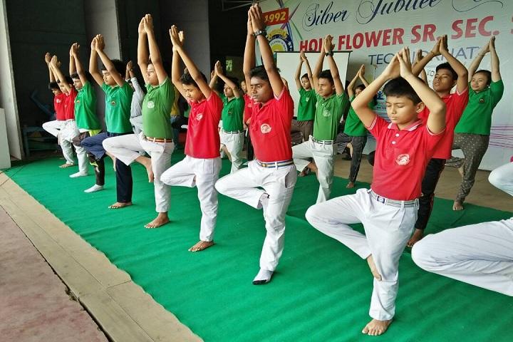 Holy Flower High School-Yoga