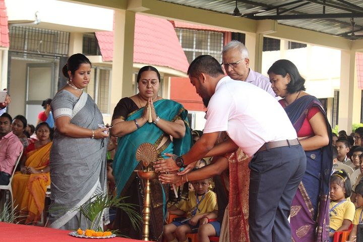 Holy Home Secondary School-Lighting The Lamp