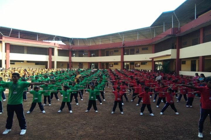 Sacred Heart Convent School-Morning Assembly