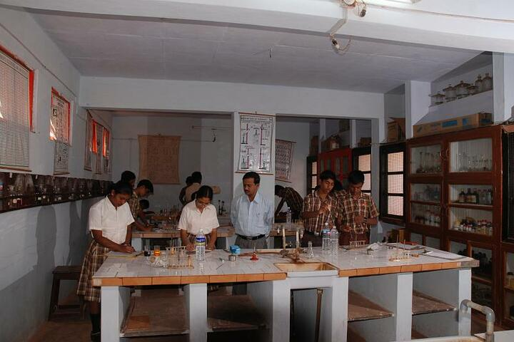Sandur Residential Composite Junior College-Chemistry Lab