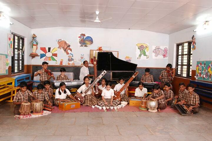 Sandur Residential Composite Junior College-Music Room
