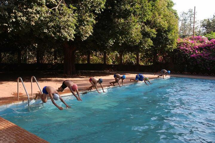 Sandur Residential Composite Junior College-Swimming Pool