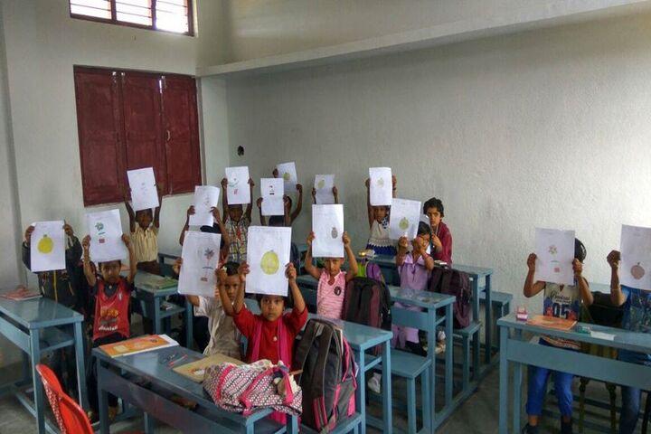 Shakambhari Vidyaniketana-Classroom