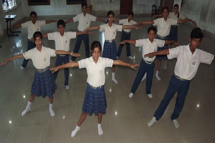 International School Guwahati-Dance Room