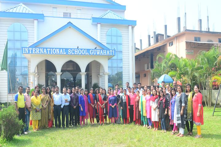 International School Guwahati-Staff
