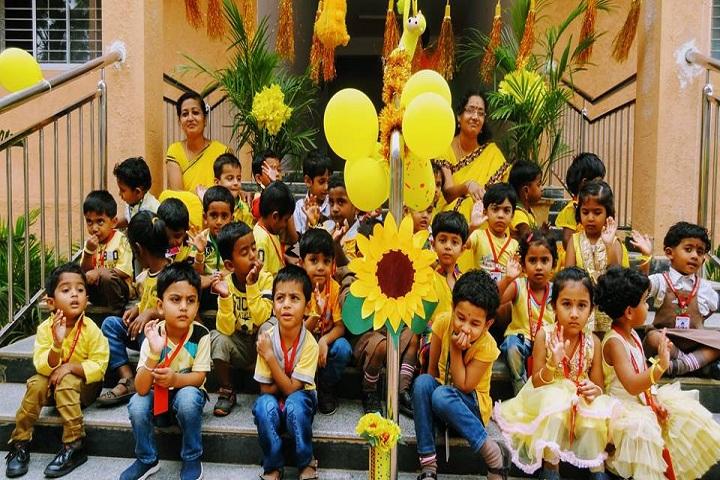 Sharda Vidya Mandira-Yellow Day