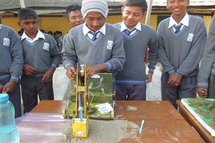 ITBP Public School-Science Exhibition