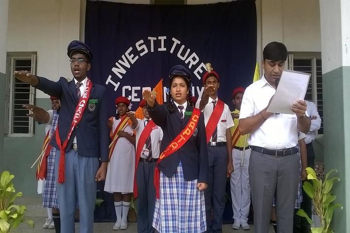 Shikshkarni Central School-Investiture Ceremony