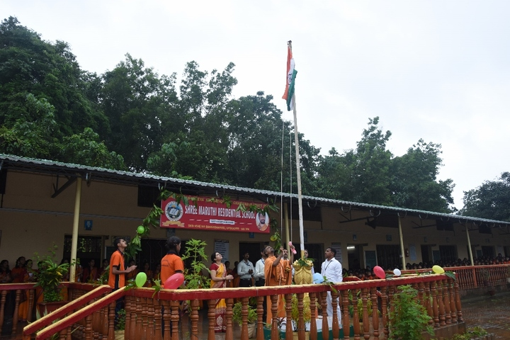 Shree Maruthi Residential School-Independence Day