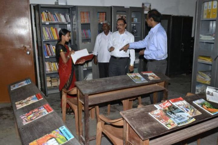 Shree Maruthi Residential School-Library