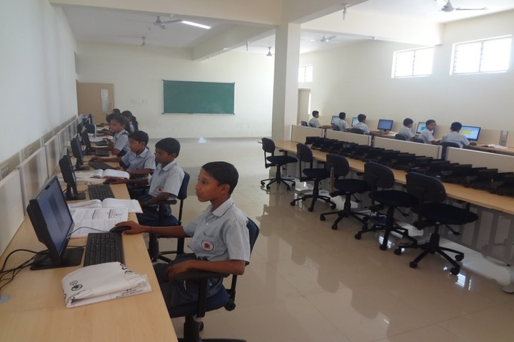 Shri B T Patil Memorial Nandi International Residential School-Computer Lab
